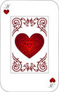 Ace HEARTS Royalty Free Stock Photo