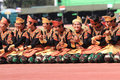Aceh dances Royalty Free Stock Photo