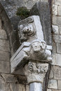 Acerenza (Basilicata, Italy): cathedral detail Royalty Free Stock Photo
