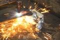 Acetylene heat blast