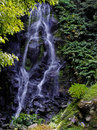 Achada waterfall the of sao miguel island azores portugal Royalty Free Stock Photography
