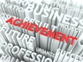 Achievement Background Conceptual Design. Royalty Free Stock Photo