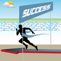 Achieving success Stock Images