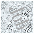 Achieving success in new jobs word cloud concept vector background text Stock Photo