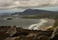 Achill island in county mayo is the largest in the republic of ireland Stock Photography