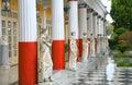 Achillion Palace Statuary Stock Photography