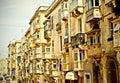 Achitecture in Valletta Stock Images