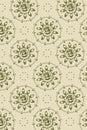 Achtergrond - de grafische diagonaal van bloemgezichten Royalty-vrije Stock Afbeeldingen