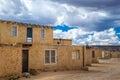 Acoma pueblo adobe homes of the national historic landmark new mexico Stock Photos