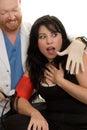Acoso sexual, agresión sexual Foto de archivo