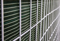 Acoustic fence approximate and subject blur Royalty Free Stock Photography
