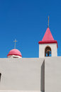 Acre israel middle east the bell tower of saint john s church in on september st john s church belongs to the franciscans and now Stock Photo