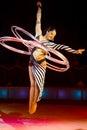 Acrobat perform Royalty Free Stock Image