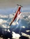 Acrobatic plane