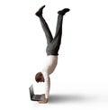 Acrobatic work Royalty Free Stock Photo