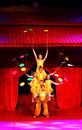 Acrobatics china in performance stage Royalty Free Stock Photo