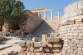 Acropoli lindos rhodes greece summer Royalty Free Stock Photos