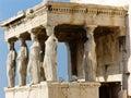 Parthenon Temple in Greece Royalty Free Stock Photo