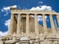 The Parthenon in Greece Royalty Free Stock Photo