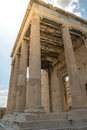 Acropolis Parthenon Columns in Athens, Greece. Royalty Free Stock Photo