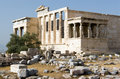 Acropolis, Porch of Maidens Stock Photography