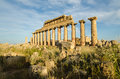 Acropolis of selinunte sicily at italy Stock Photography