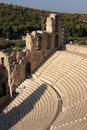 Acropolis, Theater of Dionysus Eleuthereus Royalty Free Stock Photography