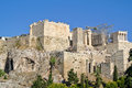 Acropolis view of from areipagus hill athens greece Stock Photo