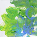 Acrylics hand painted on canvas Royalty Free Stock Images