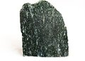 Actinolite on white ural s stone Stock Images