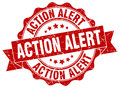 Action alert stamp