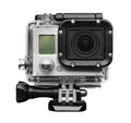 Action camera isolated on white background Royalty Free Stock Image