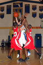 Action de basket-ball Photo libre de droits