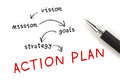 Action Plan Royalty Free Stock Photo