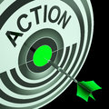 Action shows emergency urgent or motivating act showing Royalty Free Stock Photo