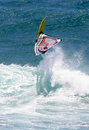 Action Sports Windsurfing Windsurfer Catching Air Royalty Free Stock Photo