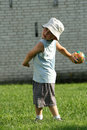 Active boy Royalty Free Stock Photo