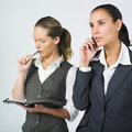 Active businesswoman Stock Photos