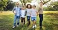 Active Child Childhood Children Offspring Park Concept Royalty Free Stock Photo