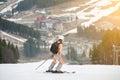 https---www.dreamstime.com-stock-photo-young-sportswoman-skier-mountain-slope-ski-resort-image107707260