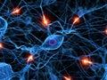 Aktivně nerv buňka