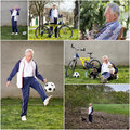 Active retirement Royalty Free Stock Photo