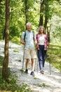 Active senior couple Royalty Free Stock Photo