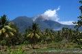 Active vulcano in watumita maumere area flores indonesia asia Stock Photos