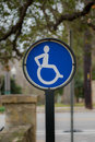 Active Wheel Chair Sign Royalty Free Stock Photo