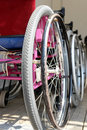 Active wheelchairs Stock Photos