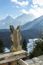 Actively experience the mountain mountains in austria tirol Stock Image