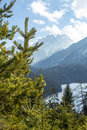 Actively experience the mountain mountains in austria tirol Royalty Free Stock Photo
