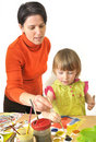 Activity in preschool Stock Photos