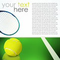 Activity sport accessories tennis Stock Photo